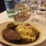 Delicious veal & dauphinoise