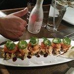 Chili Shrimp sushi roll :)