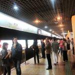 Metro Line 2 platform