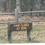 Park closes at 10:00 PM