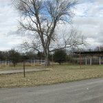 Equestrian pens & trailer parking