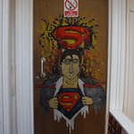 My Superman Room Entrance