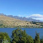 Lake Wakatipu and Remarkables Range from room