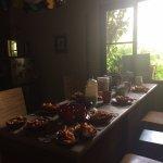 la cocina y el desayuno