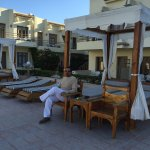 This hotel was very nice especially around the pool and of course the beach. My wife and I are d