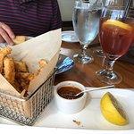 Oystercatchers famous Calamari Fries. Awesome.