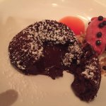 warm chocolate filled dessert- perfect!