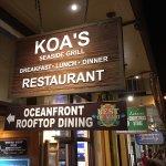 Koa's on Front Street in historic Lahaina Town, Maui