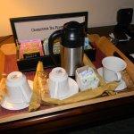 Afternoon tea service