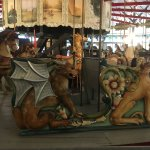 Take a Ride on the Carousel at Slater Memorial Park