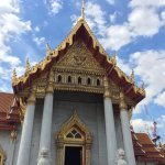 Wat Benchamabophit (The Marble Temple) Foto