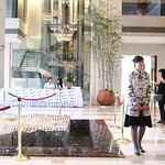 Regent Beijing Hotel Lobby and Greeter