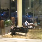 Lobby Lounge with live piano music