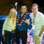 My wife, Amy and I with the incomparable Darren Lee!