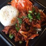 Spicy pork bulgogi ($11.50 weekends only)