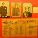 Boleta con la que ganó sus primeras elecciones Juan D. Perón