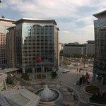 Cosmopolitan view from the hotel room, Grand Hyatt, Beijing.
