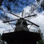 Un moulin unique à 6 pales
