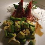 Gamberi e avocado