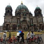 Poor weather (to be fair, it was February) but the Berliner Dom still shines