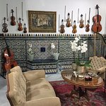 One of the musics rooms!