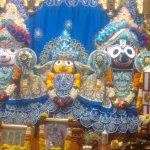 Jagannath subhadra and Balarama idol