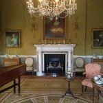The Parlour - set for tea.