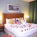 This room surprises us! Such a perfect and romantic room for a couple like us. Thanks guys!