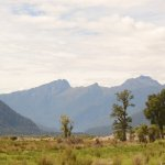 Haast Valley mountains