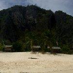 panorama de l'île.