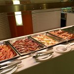 Evening Buffet. Exceptional food.