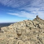 Firetower at the top of Harney Peak