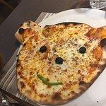 Pizza ourson du menu pitchoune