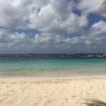 Harbour Village beach view. Klein Bonaire in distance.