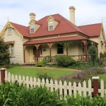 Front of the house from the road