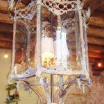 the antique lamp