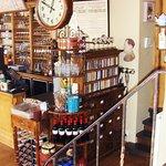 the reception/cashier's desk