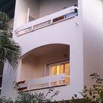 Villa balconies