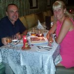 lovely anniversary meal at the Moroccan a la carte