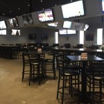 Pull up a seat with your friends and cheer on your favorite team. There's plenty of room!