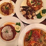 Fontenella Chicken w/shrimp special