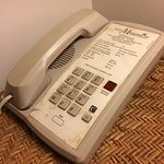 Phone in room