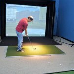 Indoor Golf Simulator - Want to play Golf Year round? Looking to practice your swing?