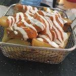 Patatas bravas (8'5€)