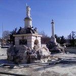 Fuente de Hércules y Anteo, Aranjuez, Provincia de Madrid.