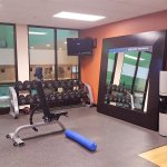 Weight Lifting Room ... free weights are available.