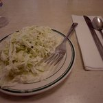 Their famous cole slaw!