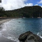Anse Chastanet beach - morning