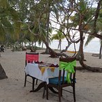 Romantic Dinner for Two on the Beach at Hamanasi Resort
