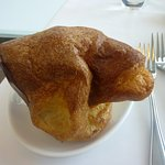 Complimentary popover provided with order at The Rotunda at Neiman Marcus.
